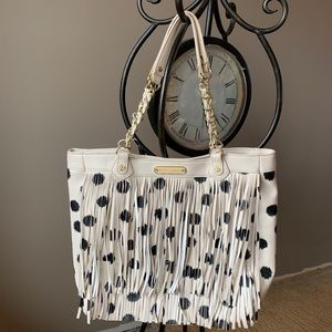 Betsy Johnson Fringe Purse